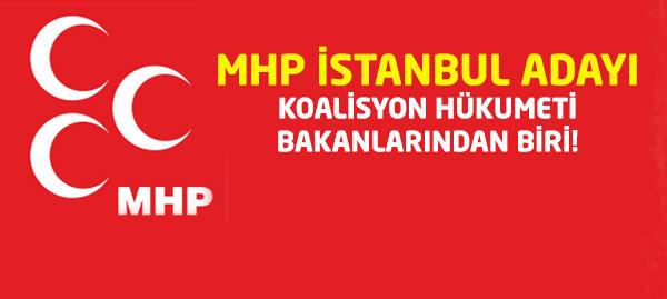 MHP İstanbul Adayı Netleşti!