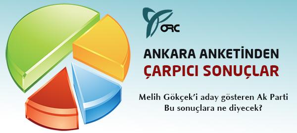 ORC Ankara Büyükşehir Anketi Sonuçları