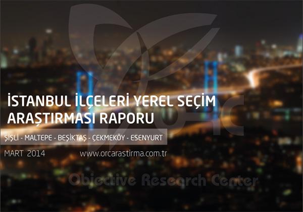 ORC Araştırma İstanbul Anketi Sonuçları