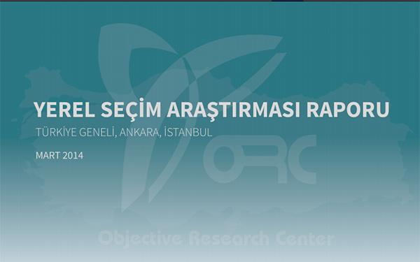 ORC Araştırma Yerel Seçim Anketi Sonuçlarını Açıkladı