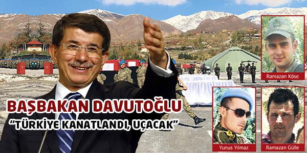 Başbakan Davutoğlu Çözüm Sürecinin Sonucunda Olacakları Açıkladı: Türkiye Kanatlanacak!