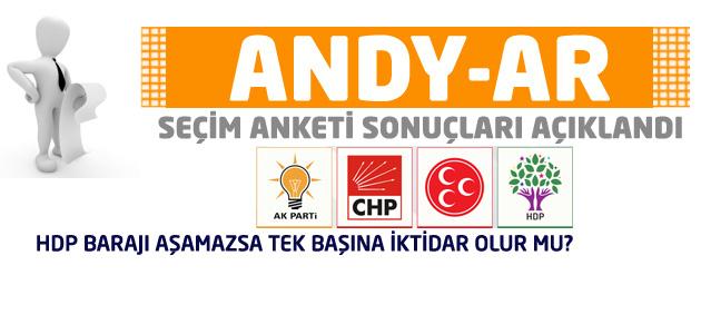Andy-Ar son genel seçim anketi sonuçlarını açıkladı