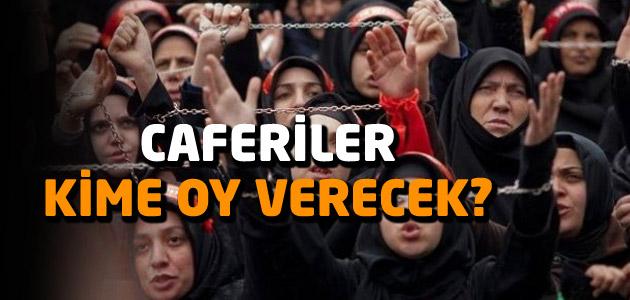 Türkiye Caferileri hangi partiye oy verecek?