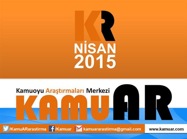 KamuAR -Kamuoyu Araştırmaları Merkezi - 2015 Nisan Anketi
