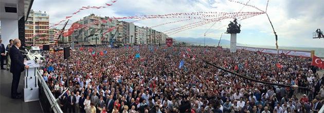 MHP Lideri Devlet Bahçeli İzmir Mitingiyle Coştu!